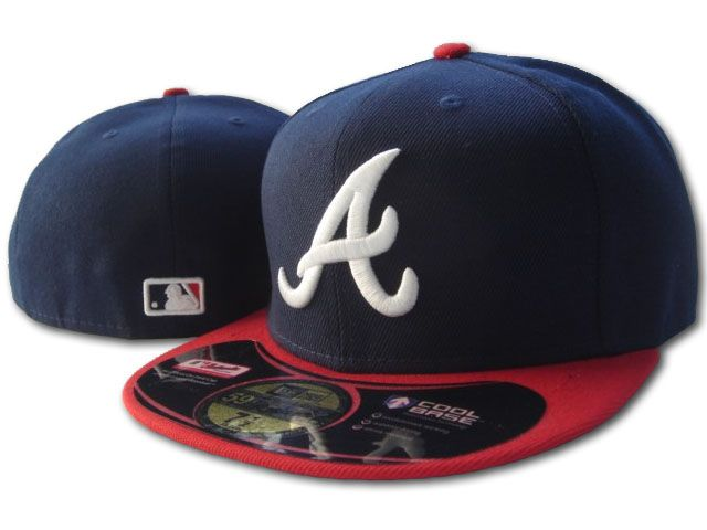 Atlanta Braves MLB Fitted Hat SF3